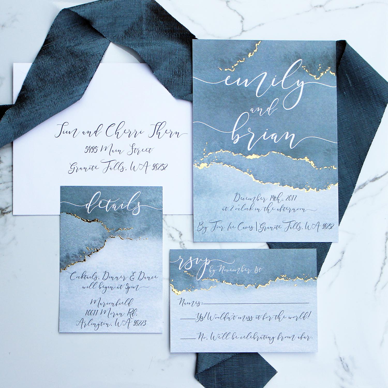 DCo Lovenotes – custom wedding invitations and stationery